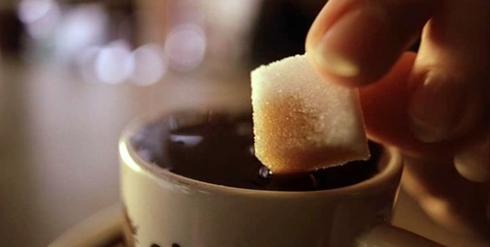 şekerli kahve